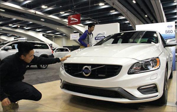 SF Auto Show DazzlesIndustrieschinadailycomcn - Moscone car show