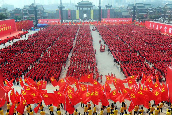 communism in china The communist party of china comprises a one-party state form of government however, there are parties other than the cpc within china.