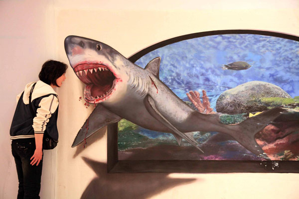 Watch out paintings come alive for 3d mural painting tutorial