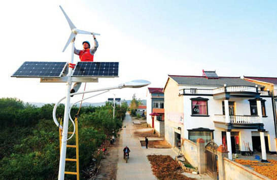 Potential huge for China to go 'green'