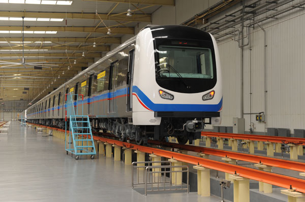 Subway compartments exported to iran society for China railway 13 bureau group corporation