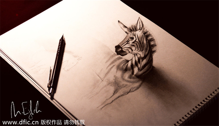 New views amazing 3d pencil drawings 5 china photos for Amazing drawing websites