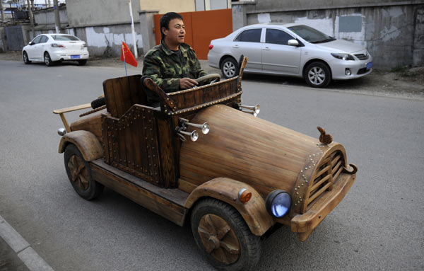 Homemade cars outpace the ordinary[1]|chinadaily.com.cn