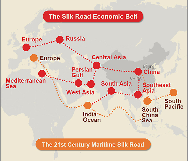 Silk Road Initiative takes new route on TV mapPoliticschinadaily