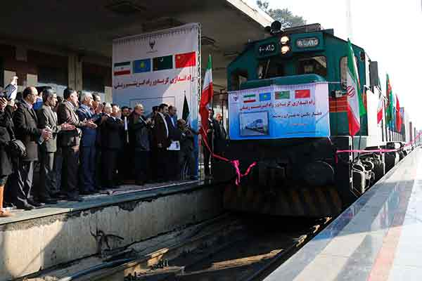First train from China to Iran stimulates Silk Road revival