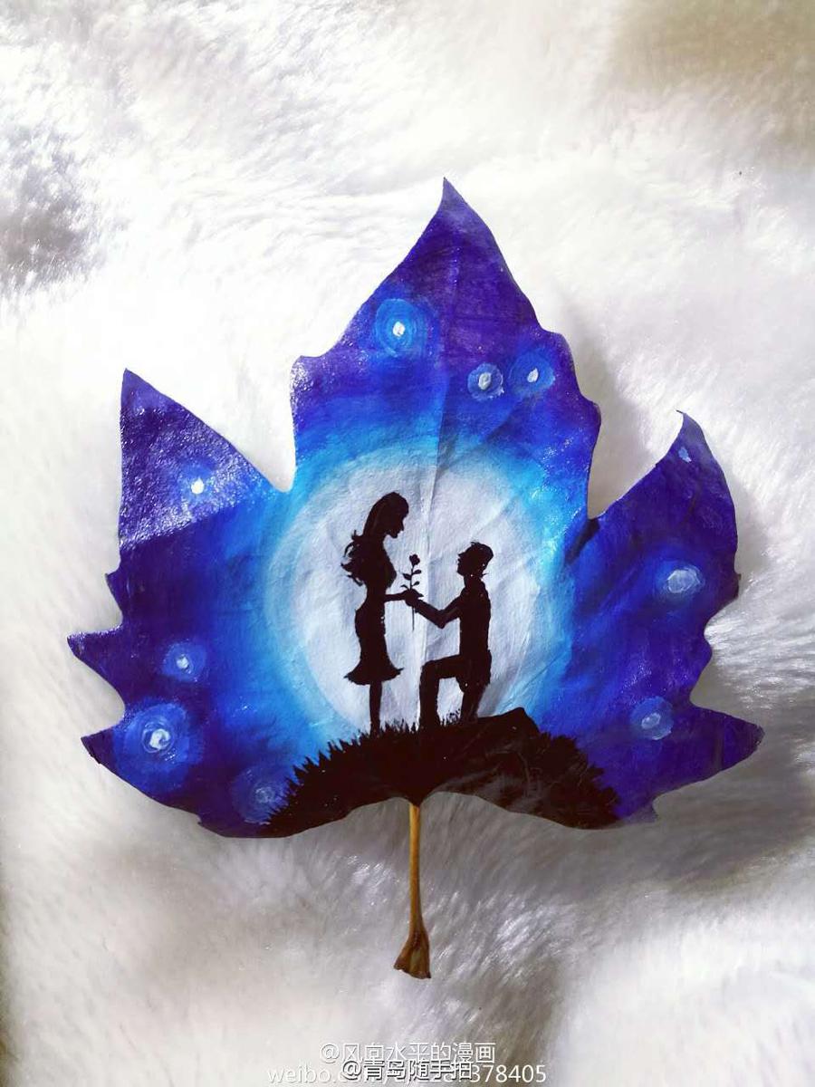 Romantic Leaves Symbol Of Love1 Society
