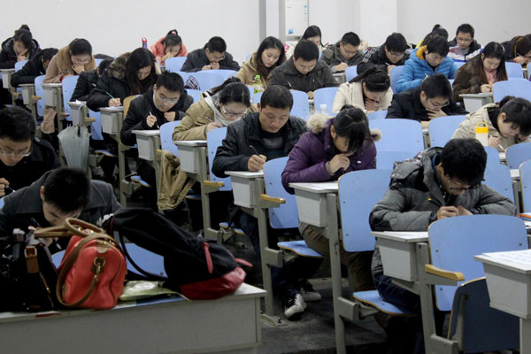record number of hopefuls sit annual civil service exam4