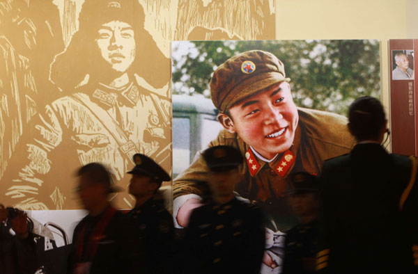 Activities honor Lei Feng spirit