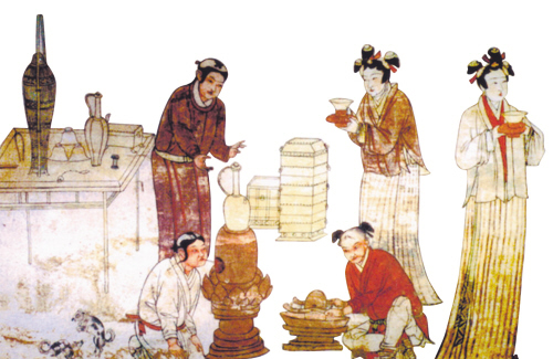What did people eat in ancient China?[5]