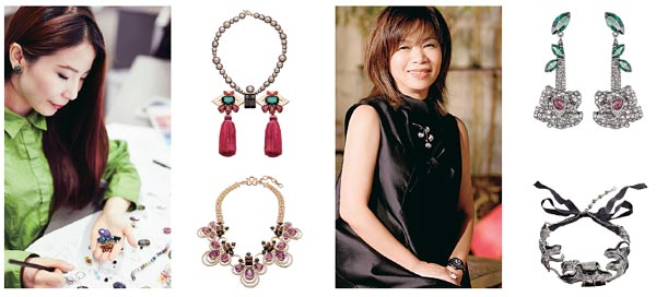 Crystalclear vision of jewelry designers1chinadailycomcn