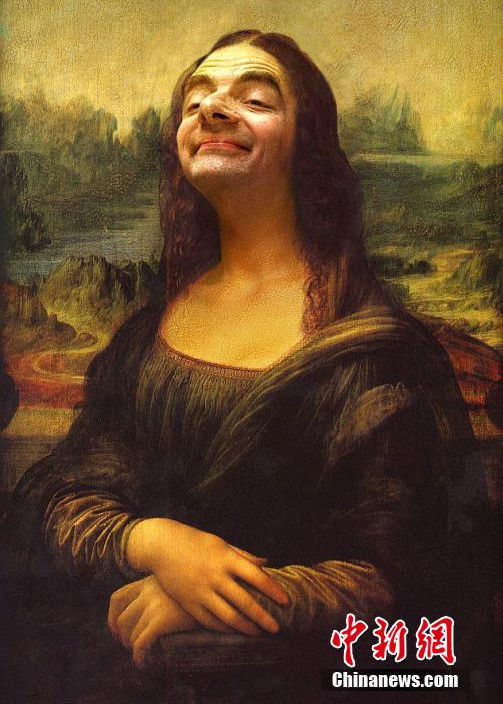 Famous World Famous Young Actresses: Mr Bean In World Famous Paintings[1]