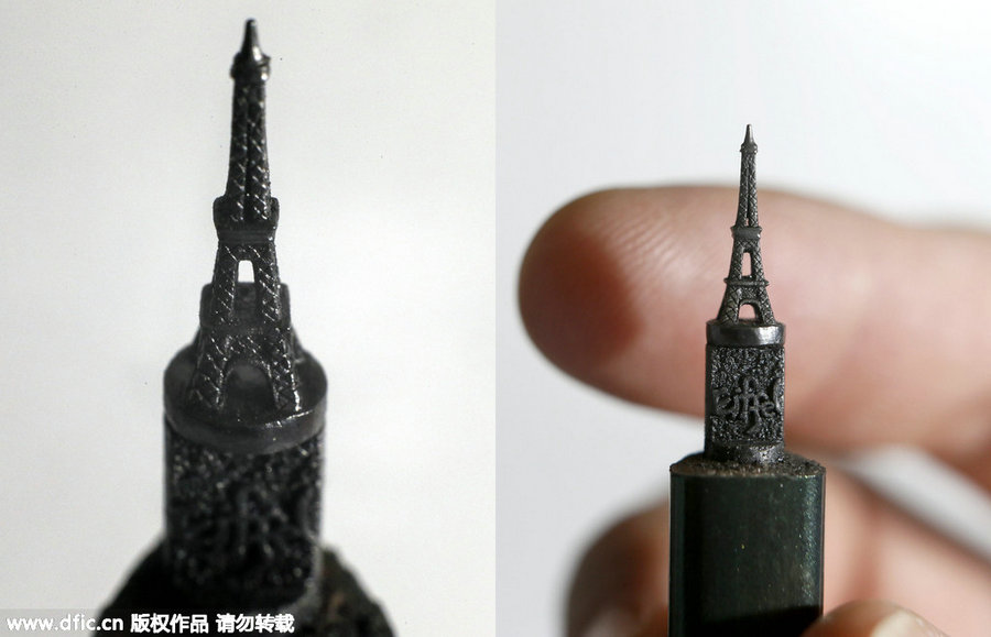 Pencil Lead Art Talented artist makes ...