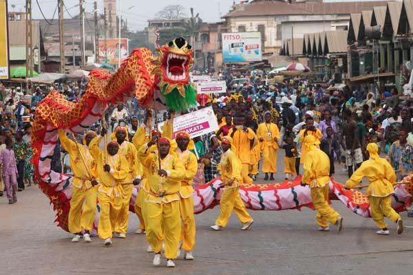 Chinese New Year celebrations held in Benin