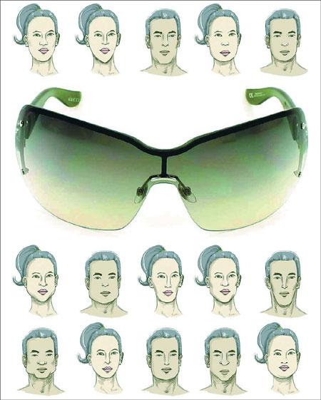 Thiết kế kính mắt cho người Châu Á