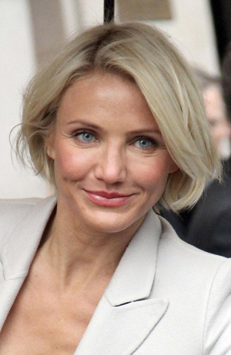 Cameron Diaz Cried After Getting Hair Cut Celebrities Chinadaily Com Cn