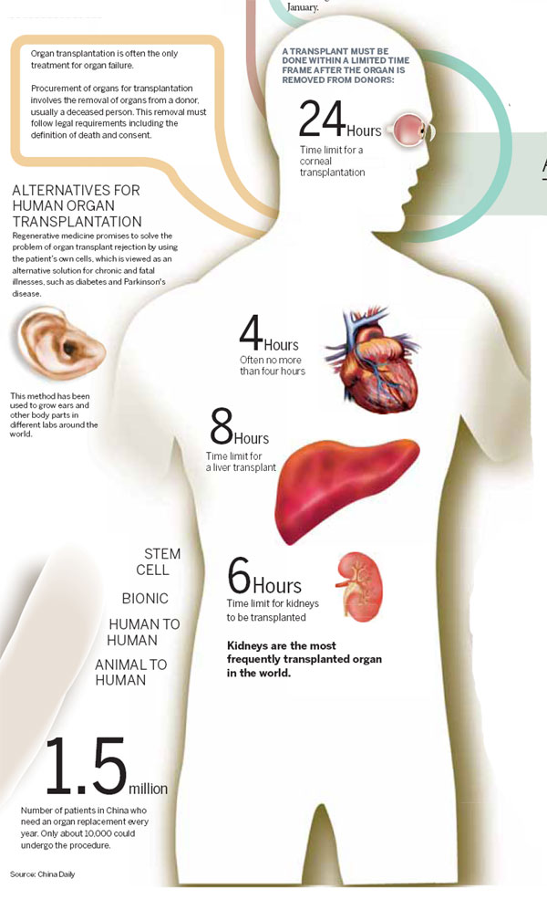 a study of organ transplant Organ transplantation is a medical procedure in which an organ is removed from one body and the latter research study was intended to pave the way for potential.