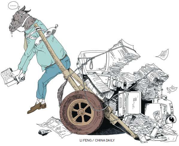 Working under pressure|China|chinadaily.com.cn