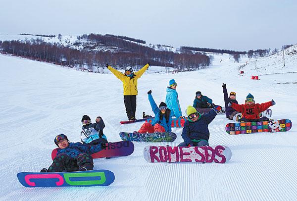 chongli ski resort