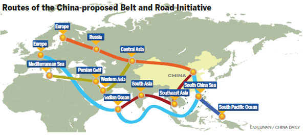 Belt and road countries