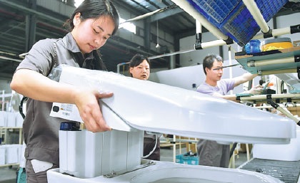 Sanitary maker in smart move USA Chinadaily
