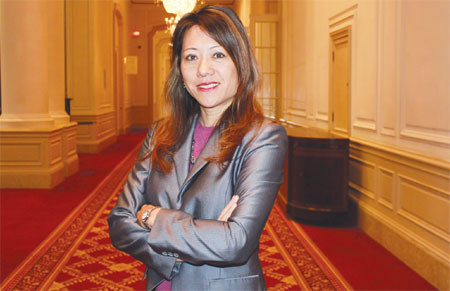 Fiona Ma: The sky's the limit in politics