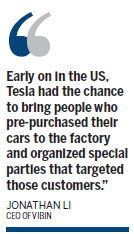 Tesla to sell cars on Tmall