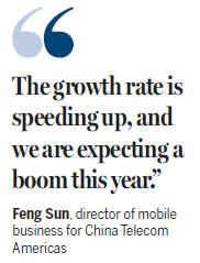 China Telecom has big US plan