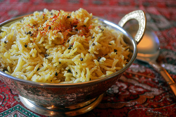 Recipes usa chinadaily spiced saffron rice india forumfinder Image collections