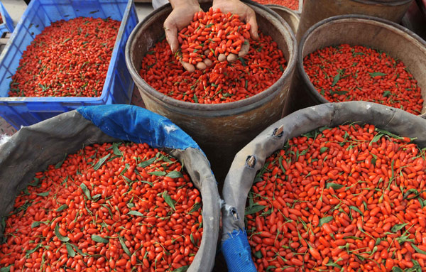 Chinese Goji Berry Increases Appetite Of Western Foodies Usa