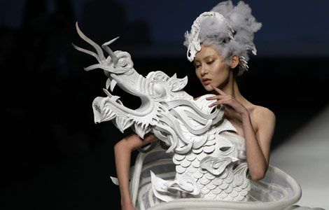 Chinese Fashion Designers In The Us Slide China Fashion Week