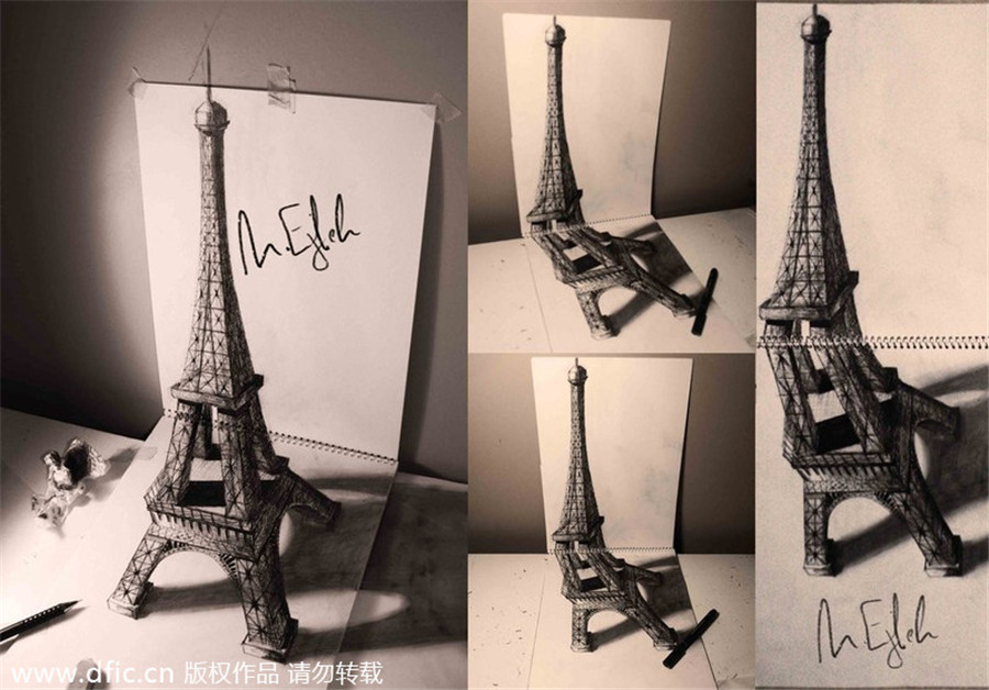 New Views Amazing 3d Pencil Drawings 6 Slides