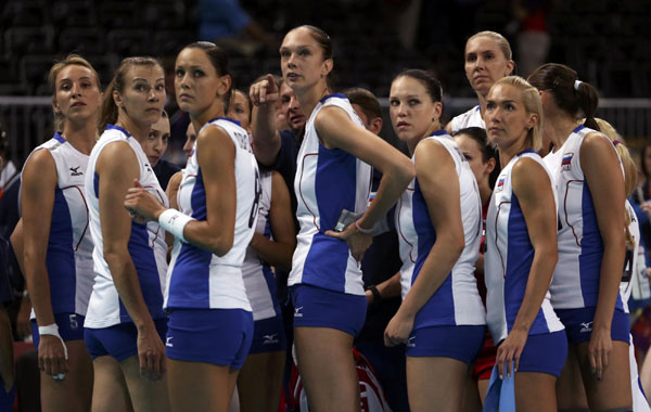 сборная россии по волейболу девушки фото