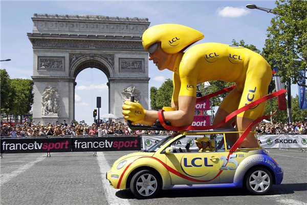 Image result for tour de france caravan