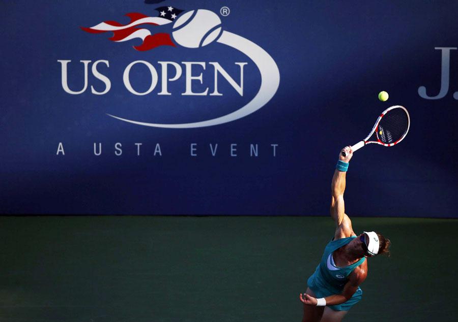 Us open tennis matches