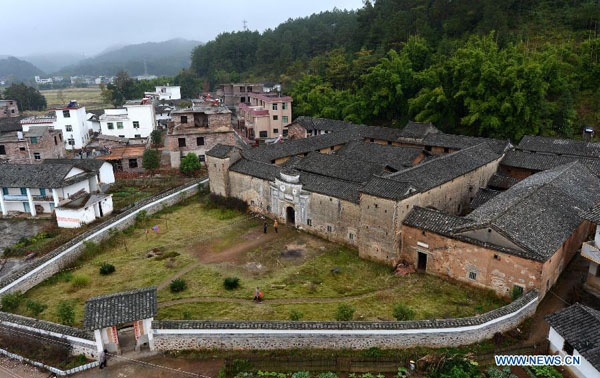 Ganzhou China  city photos gallery : ... of Hakka: walled village in Ganzhou, E China[1]|chinadaily.com.cn