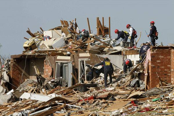 survivors before more storms