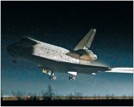 space shuttle landing strip length - photo #47