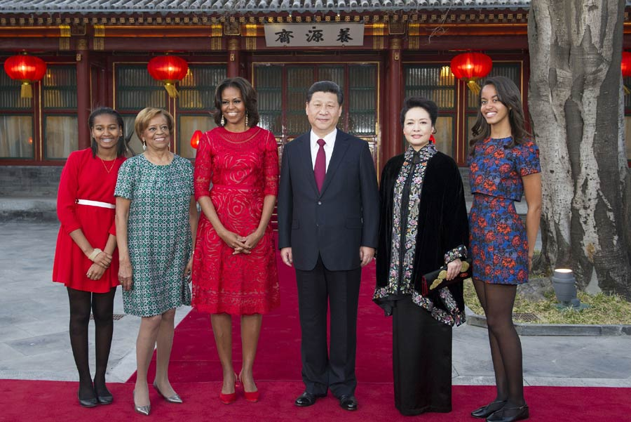 US first lady shows character during maiden visit to China