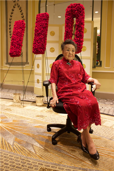 Author And Wife Of Diplomat Celebrates 110th Birthday[1
