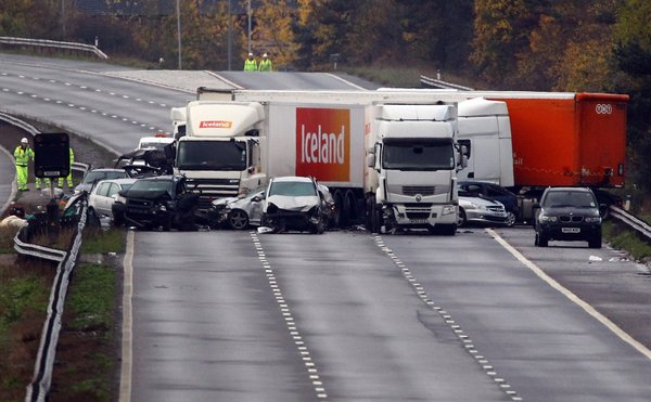 Seven die in `fireball` road crash in UK