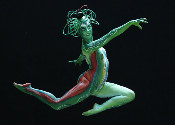 bodypainting festival in usa
