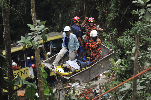 Car Search Usa >> At least 37 killed in Malaysian bus crash[1]|chinadaily.com.cn