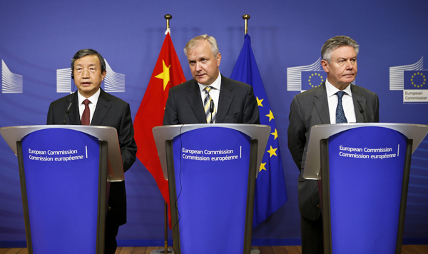 Brussels visit heralds closer trade ties for EU and China ...