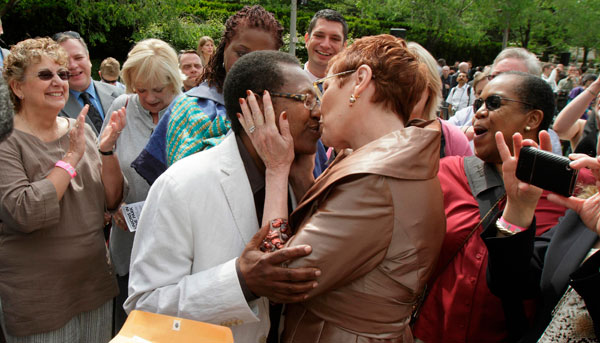from Johan gay marriage advocates reject civil unions