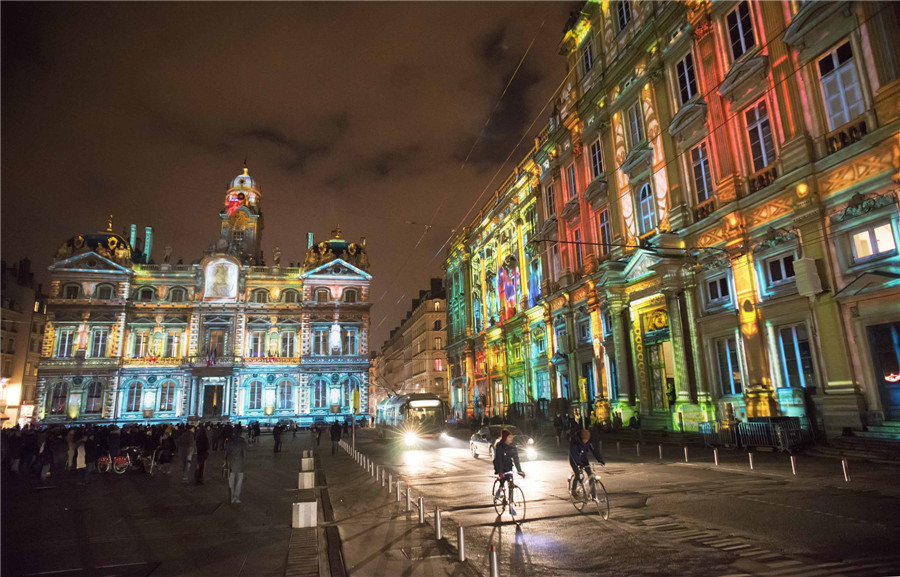 Lyon France  City new picture : Festival of Lights in Lyon, France[1]| Europe