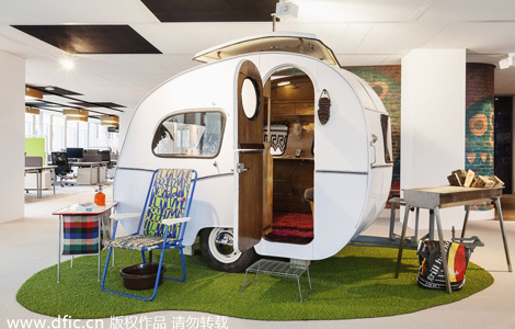 google office in usa. Google Unveils New Amsterdam Office In Usa E