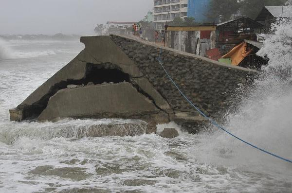 Koppu hits Philippines north, destroys houses, displaces