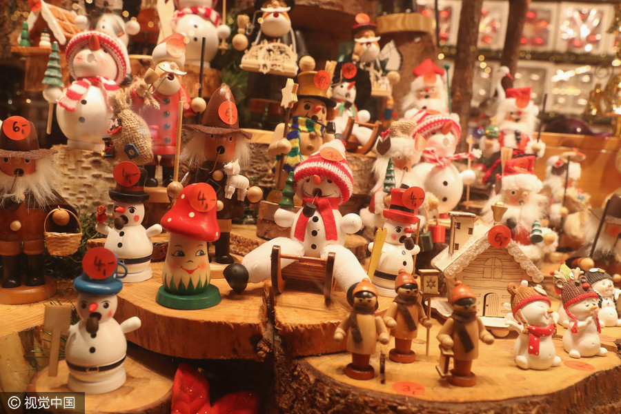 traditional christmas markets open in germany wooden christmas ornaments