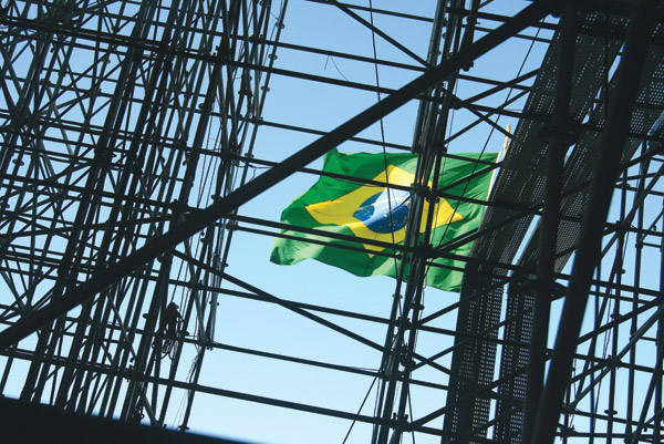 Chinese Construction Boom Brazil Construction Boom to
