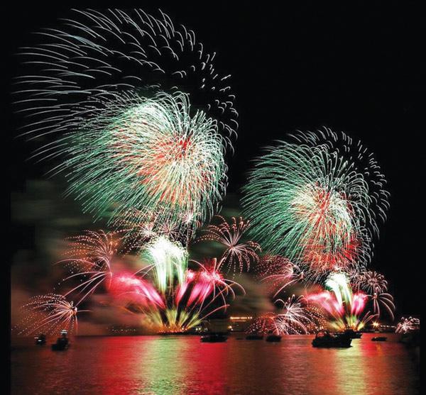 fireworks on hudson tonight to usher in chinese new year - Chinese New Year Fireworks